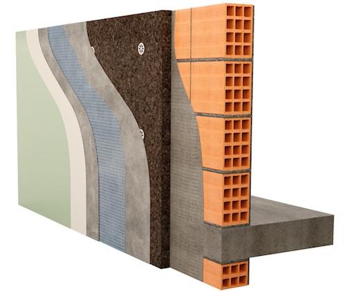 Isolamento termico insufflaggio con cellulosa di lana di for Pannelli sughero brico